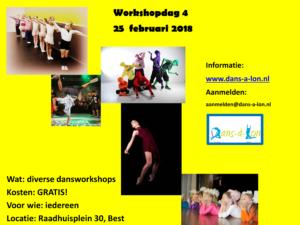 25 februari workshopdag 4 - Aankondiging a4